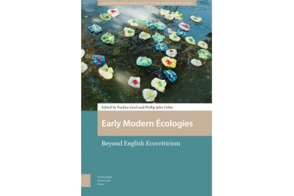 cover art for Early Modern Ecologies