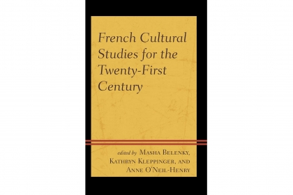 Cover art for French Cultural Studies