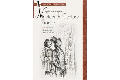 cover art for popular literature from nineteenth century France